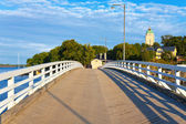 Bridge on Sveaborg island in Helsinki, Finland — Stock Photo