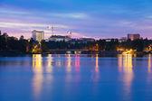 Twilight in Helsinki — Stock Photo