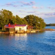 Summer cottage in Finland — Stock Photo