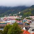 Panorama of Bergen, Norway - Stock Photo
