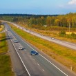 Autobahn traffic — Stock Photo