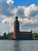 Stockholm, City Hall — Stock Photo
