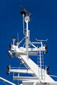 Ship navigation equipment — Stock Photo