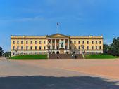 Palácio real de oslo, noruega — Foto Stock