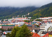 Panorama of Bergen, Norway — Stock Photo