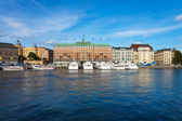 Stockholm cityscape — Photo
