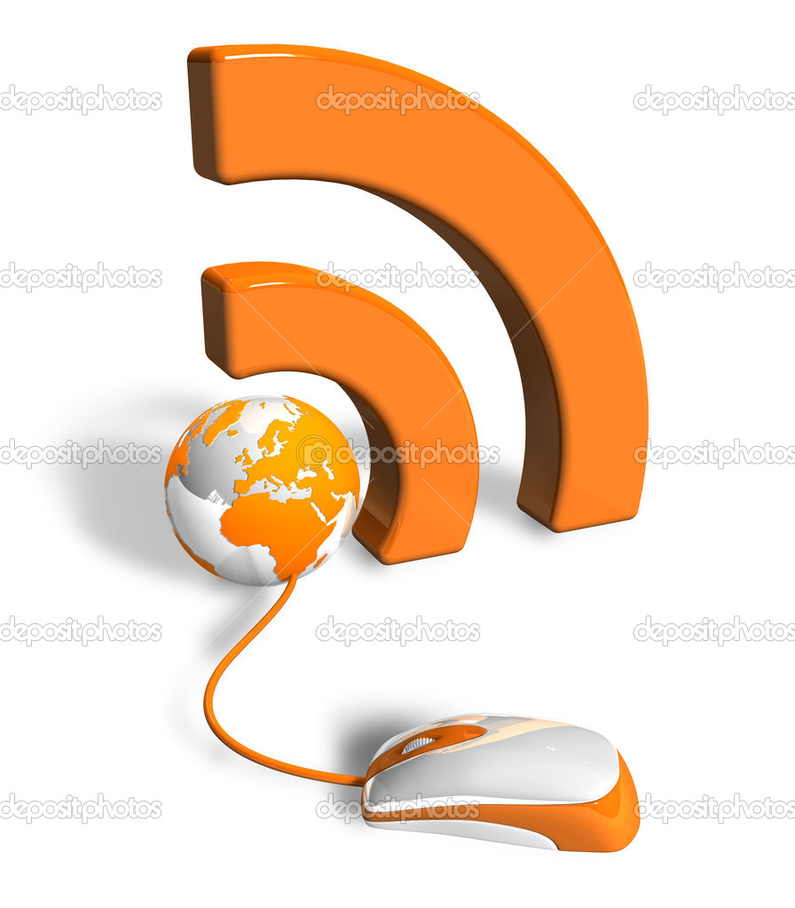 RSS concept — Stock Photo #4487512