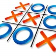 Stock Vector: Tic-tac-toe