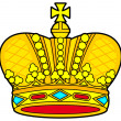 Royal crown - Stock Vector