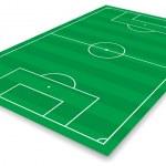Football field — Stock Vector