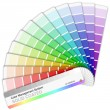 Royalty-Free Stock Vector Image: Pantone color palette