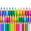 Rainbow pencil background — Stock Vector #4541533