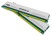 DDR3 memory modules — Stock Photo