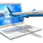 Air travel concept — Stock Photo