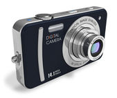 Compact digital camera — Stock Photo