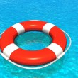 Stock Photo: Lifesaver in water