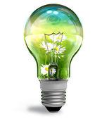Koncepcyjny ekologiczny — Zdjęcie stockowe