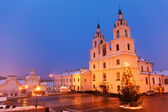 Christian cathedral in Minsk, Belarus — Stock Photo
