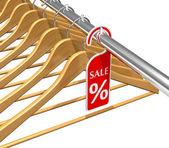Wear sale discount concept — Stock Photo