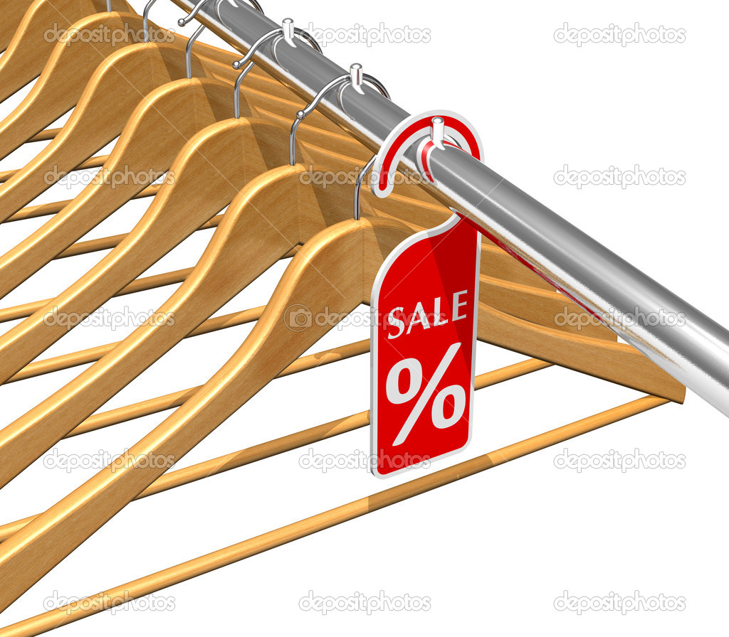 Wear sale discount concept — Stock Photo #5034625