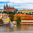 Panorama of Prague, Czech Republic - Foto Stock