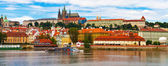 Panorama of Prague, Czech Republic — Stok fotoğraf