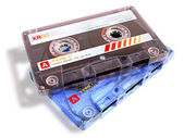 Audio cassettes — Stock Photo