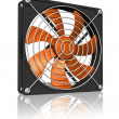 Computer chassis/CPU cooler — Stock Photo #5352732