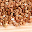 Buckwheat seeds — Stock Photo