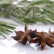 Royalty-Free Stock Photo: Bunch of rosemary and and anise stars