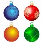 四个颜色的球 — 图库矢量图片