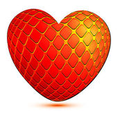 The symbolical image of heart — Stock Vector
