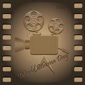World Cinema Day — Stock Photo