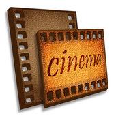 Cinema card — Stock Photo