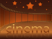 Cinema stars — Stock Vector