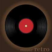 Retro music — Stock Vector