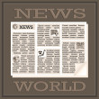 World News - Stock Vector