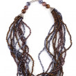 Stock Photo: Necklace with beads