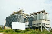 Grain elevator — Stock Photo