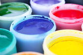 Paint buckets — Foto de Stock