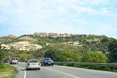 Straße in zypern — Stockfoto