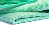 Green rag — Stock Photo