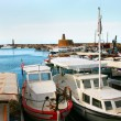Kyrenia old port — Stock Photo