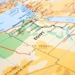 Egypt map — Stock Photo #4853784