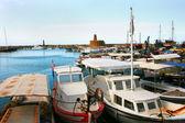 Kyrenia old port — Stock Photo