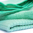 Stock Photo: Green rag