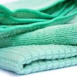 Green rag — Stock Photo
