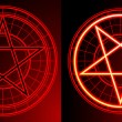 Stock Photo: Two Pentagrams
