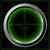 Radar screen — Stock Photo