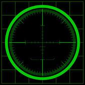 Radar ekranı — Stok Vektör